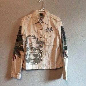 Ed Hardy bulldog jacket